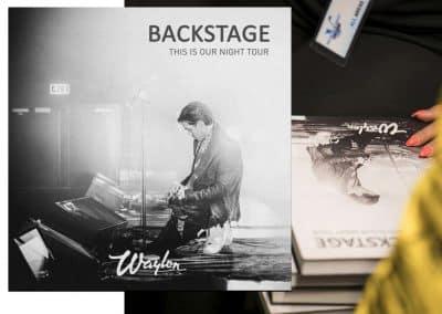 Waylon Backstage